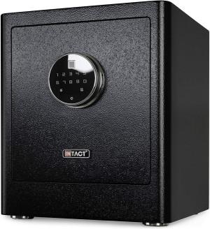Intact Compact Quick Access Biometric Fingerprint Gun Safe with Nex-Gen Full Keypad Module Tall